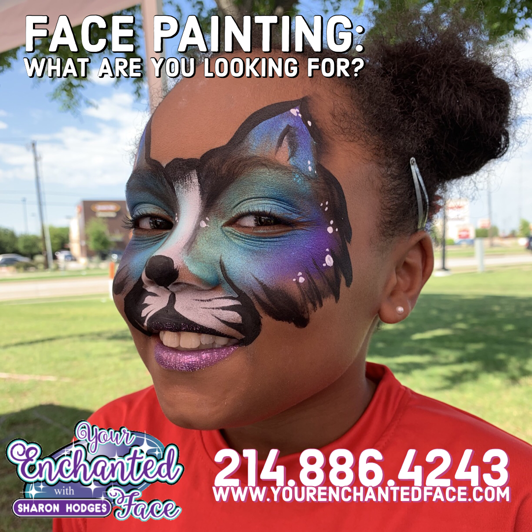 Dallas Face Painter, Hire face painter Dallas, dfw face painter, face painter dfw, dallas face painters, face paint dallas,